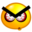 angry, choler icon