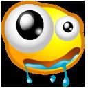 dribble, drool icon