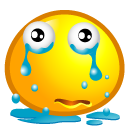 cry, sad icon