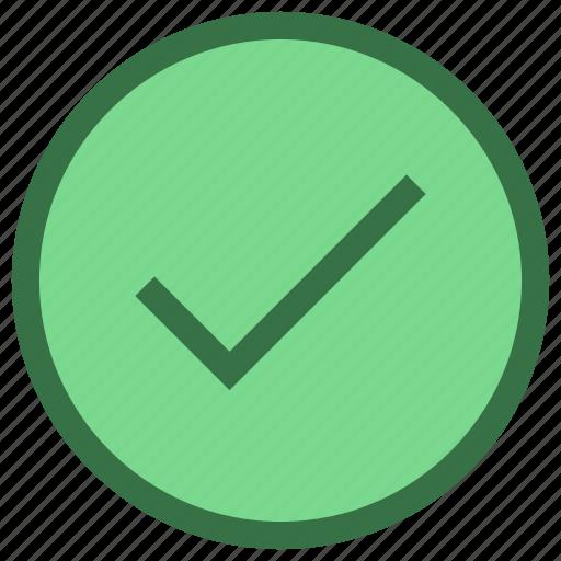 accept, checkmark, ok, popular icon