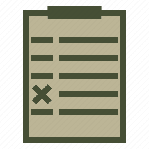 audit, list, popular, survey icon