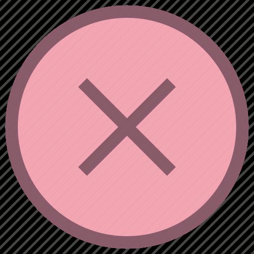 cancel, clear, popular, refuse icon