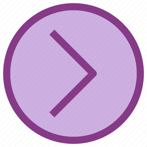arrow, forward, move, popular icon