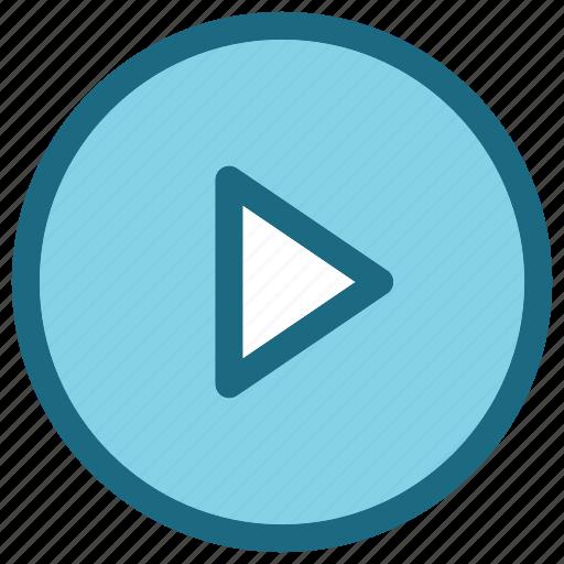 play, popular, video icon
