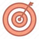 aim, center, goal, popular, shoot, target icon