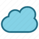 cloud, forcast, popular, rain icon