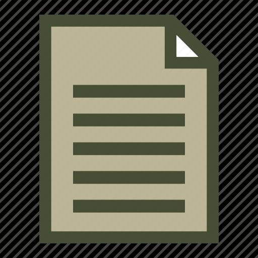 document, file, list, popular icon