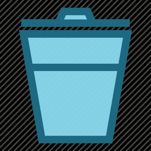 bin, garbage, popular, trash icon