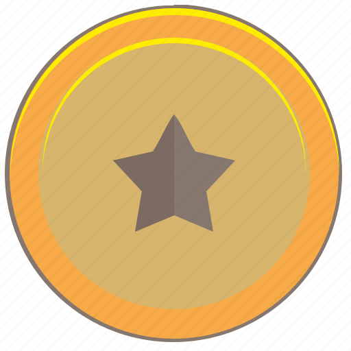 coin, favorite, money, pay, star icon