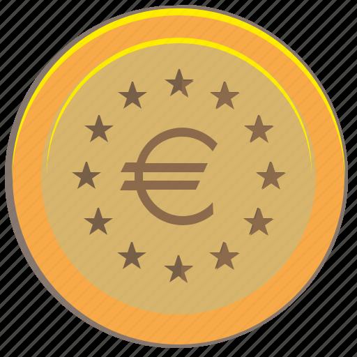coin, euro, money, pay icon