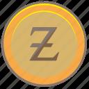 money, coin, z, zorro icon