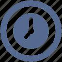 clock, round, timer icon