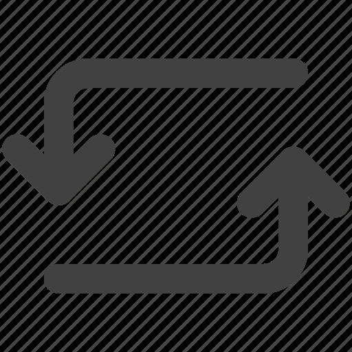 Arrow, ios, sync, synchronization, ui, web icon - Download on Iconfinder