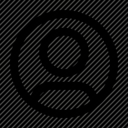 interface, popular, profile, ui, user, web icon