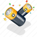 battery, electronics icon