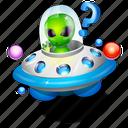 alien, help, ufo icon