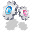 options, properties, settings icon