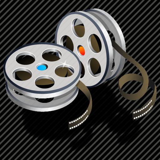 movie, old film, video icon