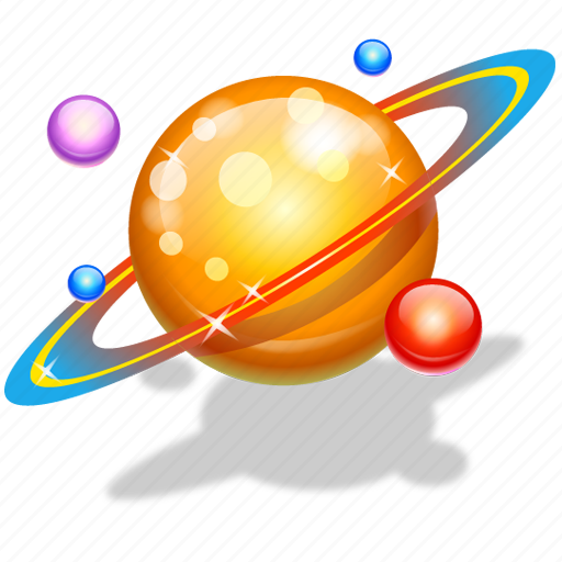 astrology, astronomy, planets icon