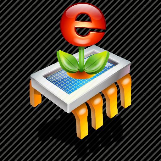 chip, internet icon