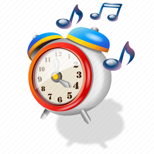 clock, ringing, time icon