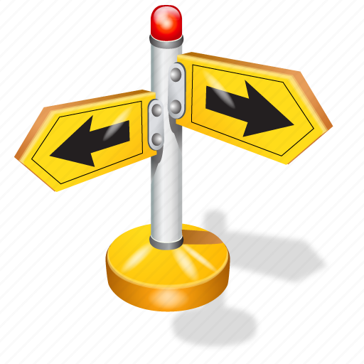directions, guide icon