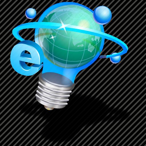 idea, internet, search result icon