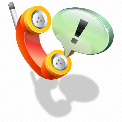 support, telephone icon