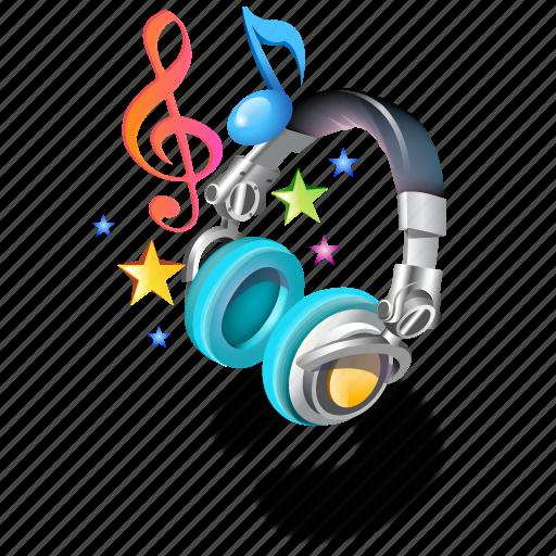 headphones, music, ringtones icon