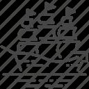 battleship, cruise, portugal, portuguese, ship, transport, warship icon