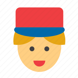 letter carrier, mail, mail carrier, mailman, post, postman, service icon