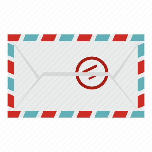communication, envelope, letter, mail, post, postage, stamp icon