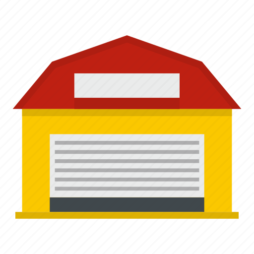 agriculture, barn, building, door, farm, storage, warehouse icon