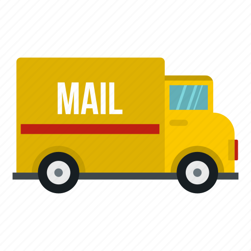business, delivery, mail, service, shipping, truck, vehicle icon