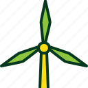 ecology, electricity, energy, environment, nature, power, wind icon