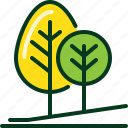 ecology, environment, forest, green, national park, nature, tree icon
