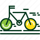 bicycle, bike, cycling, energy, power, ride, transport icon