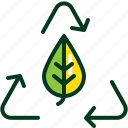 ecology, energy, green, hand, leaf, power, recycle icon
