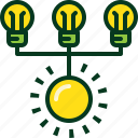 ecology, energy, light, nature, power, sun icon