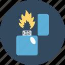 fire lighter, flame, flame lighter, ignite, lighter icon