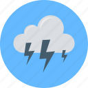thunderstorm, cloud, thunder, cloudy weather, cloud thunder