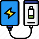 charger, eco, economic, energy, portable, power icon