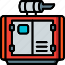 eco, economic, energy, generator, power icon