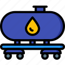 eco, economic, energy, oil, power, tanker icon