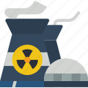 eco, economic, energy, nuclear, power icon