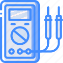 eco, economic, energy, multimeter, power icon