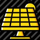 eco, energy, economic, power, solar icon