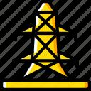 eco, energy, economic, pylon, power icon