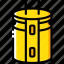 eco, energy, economic, capacitor, power icon