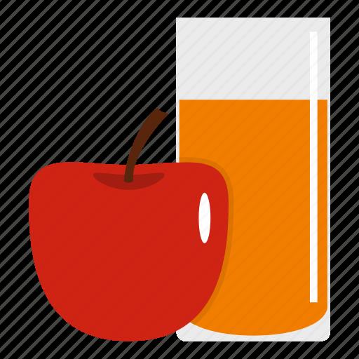 Apple, beverage, fruit, glass, healthy, juice, orange icon - Download on Iconfinder